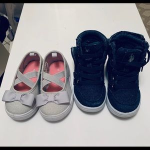 Toddler shoes 2 pairs ⭐️